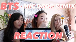 Download Lagu BTS - MIC DROP REMIX + TEASER + JAPANESE VER. REACTION | Ruby Gi Gratis STAFABAND