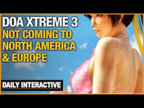 DOA Xtreme 3 Isn't Coming To North America & Europe