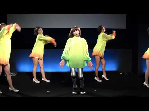 Thumb HRP-4C: Realistic Singing And Dancing Japanese Humanoid Robot