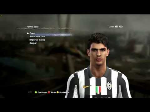 Face & Hair Alvaro Morata 2014 2015 Pes 2013