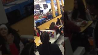 CRAZY FIGHT GIRL GETS JUMPED BY 2 OTHER GIRLS