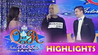 It's Showtime Miss Q and A: Vice proud of Ate Girl and Kuya Escort