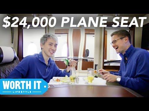 $139 Plane Seat Vs. $24,000 Plane Seat