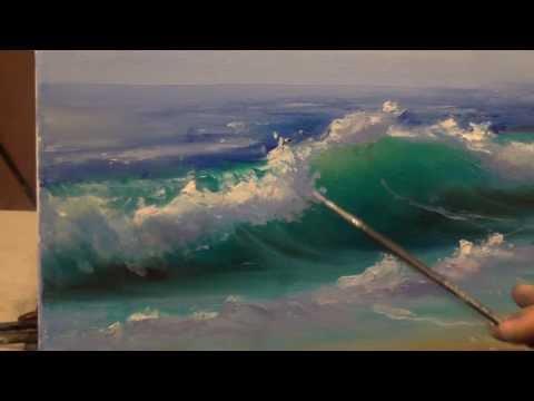 Уроки живописи маслом - видео