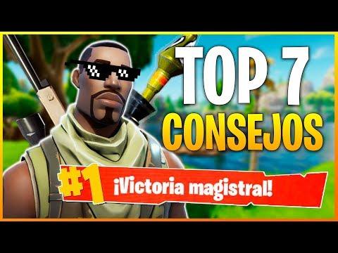 FORTNITE Battle Royale: TOP 7 MEJORES CONSEJOS PARA GANAR PARTIDAS | Makina