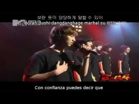 [Live] Only One - B1A4 (Han + Rom + Esp)