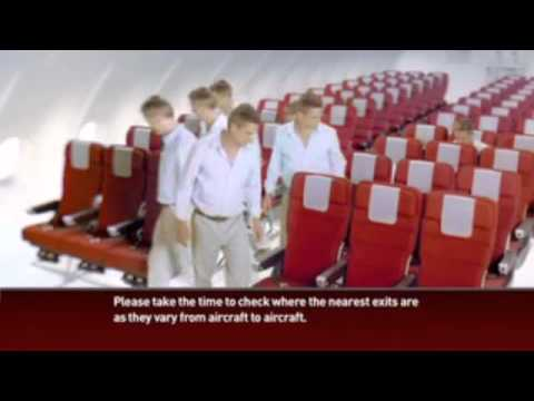 John Travolta Qantas safety video  annoying or appropriate