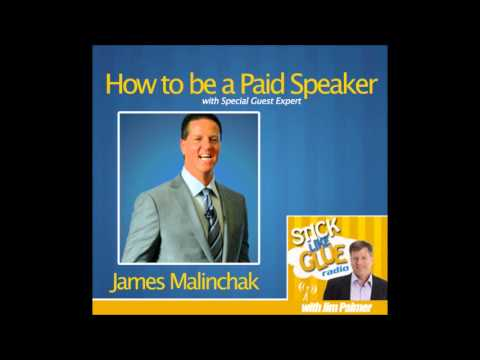 How to Be a Paid Speaker -- James Malinchak