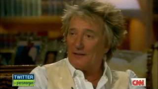 Rod Stewart on Piers Morgan Tonight (US) - Interview Part 2 of 5