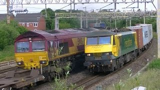 Stafford Railway Station + Queensville Curve - 22nd June 2015