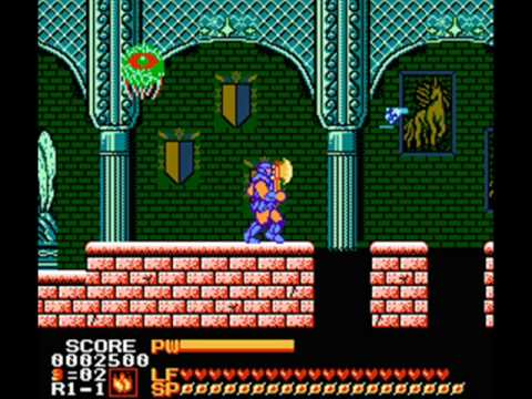 Random (Mega Ran) - The Rock (Astyanax Theme)