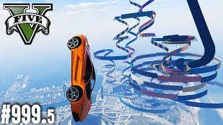 LÄNGSTER WALLRIDE OHNE CHECKPOINTS (+Download)| GTA 5 - Custom Map Rennen