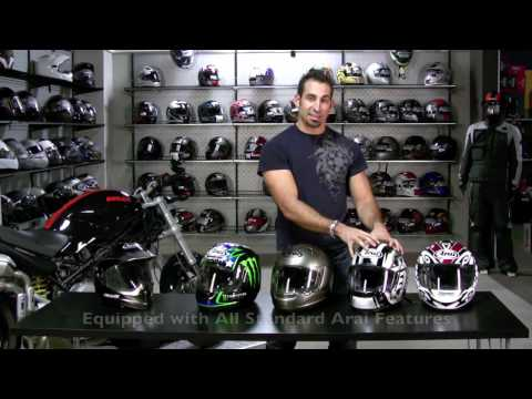 Arai Motorcycle Helmet Buying Guide and Model Overview at RevZilla.com