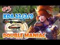 Double Maniac in One Game | Fanny Gameplay #3 | Mobile Legends Bang Bang