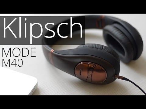 Обзор наушников c шумоподавлением Klipsch Mode M40 | UiP