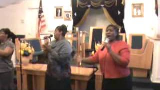 "Hope Temple COGIC Praise Team ""My Hands"""