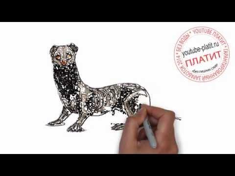 Видео как нарисовать Олимпийский факел карандашом поэтапно