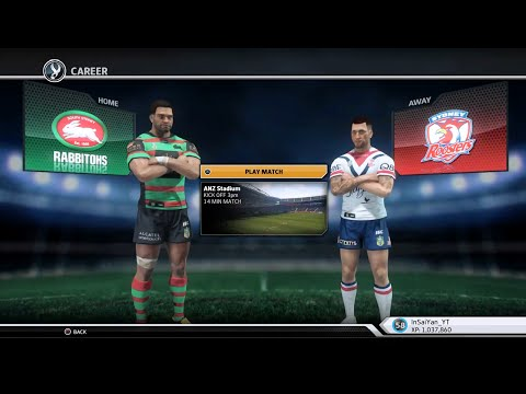 Rugby League Live 3 - Roosters Career (Round 2)