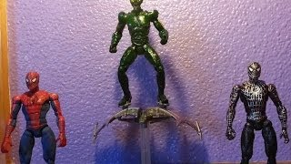 Custom Marvel Legends Review - Movie Spidermen & Green Goblin