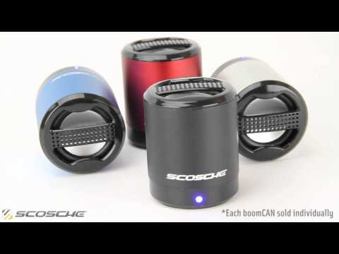 Scosche boomCAN Portable Media Speaker