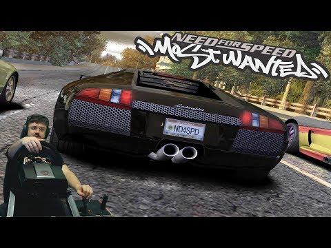 Зашкварные заезды Рэйзора на Lamborghini Murcielago в Need for Speed: Most Wanted