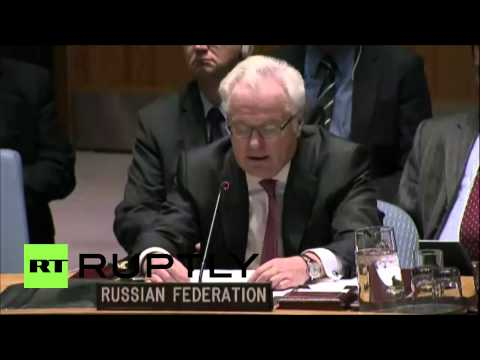 USA: 'UN Security Council inaction will doom the Middle East' - Churkin