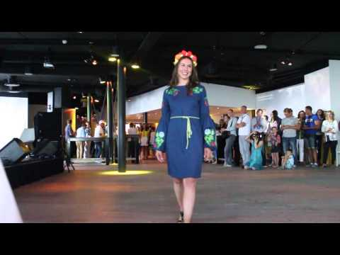 Ukrainian Fashion Show at Independence Day of Ukraine in the Netherlands