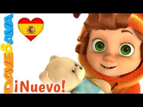 Сanciones Infantiles   Amigo Osito    Canciones Infantiles en Español de Dave y Ava