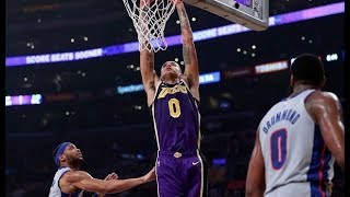 Lakers defeat the Piston behind Kuzma 41 pts/Ingram vs Kuzma/The Walton tease