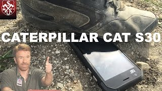 Caterpillar Cat S30 крепче Nokia 3310