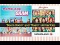 Similarities between Momoland Baam and Boom boom