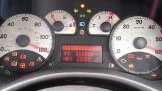 Fiat Punto Warning Lights Self Test
