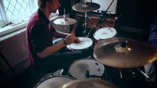 Butterflies and Hurricanes HAARP - MUSE Drum Cover (with Mics)