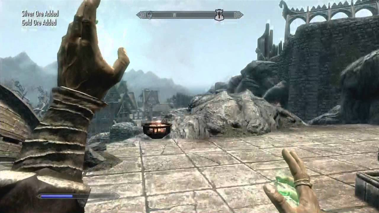 how to get level 100 smithing in skyrim