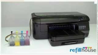 Modify HP Officejet Pro 8100 to Continuious Ink Supply System (HP 950, 951)