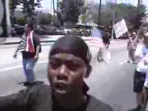BLACKS RISE UP AND FIGHT THE ILLEGAL ALIEN INVASION!! Video