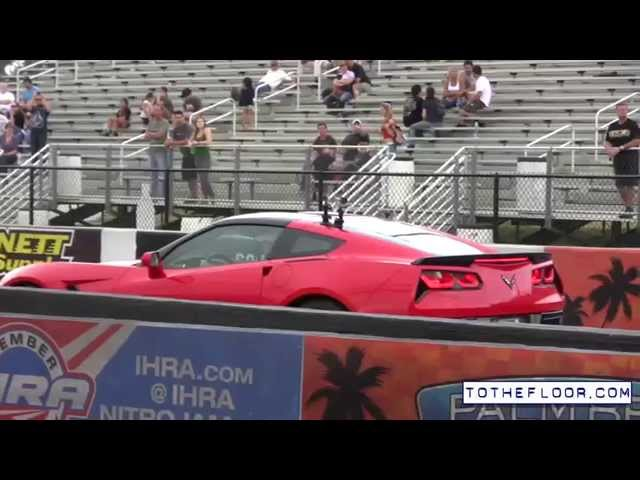 Telsa P85 Vs C7 Corvette CLOSE RACE!