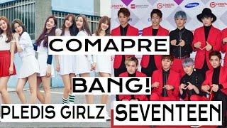 download lagu Bang  Seventeen Vs. Pledis Girlz gratis