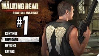 The Walking Dead Survival Instinct Gameplay Part 1 - Intro, Daryl Dixon Doesn