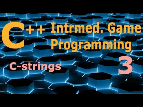 Intermediate C++ Game Programming DirectX [C-strings] Tutorial 3