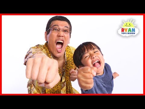 PPAP(Pen Pineapple Apple Pen)Quiz Challenge Ryan VS PIKOTARO