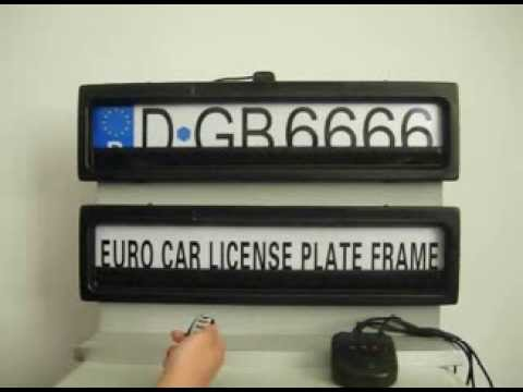 plaque anti radar voiture youtube. Black Bedroom Furniture Sets. Home Design Ideas