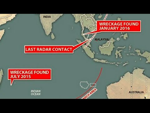 Search for MH370: Suspected plane wreckage found off S. Thailand