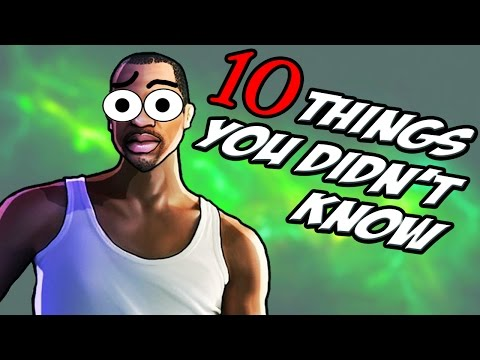 10 Things You Didn't Know About GTA San Andreas