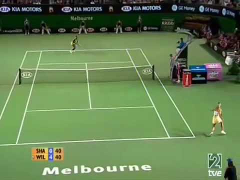 Maria Sharapova vs Serena Williams Australian Open 2007
