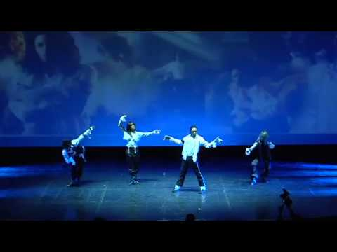 Michael Jackson Ghost - Tribute Performance By Jayl At Le Grand Rex, Paris video