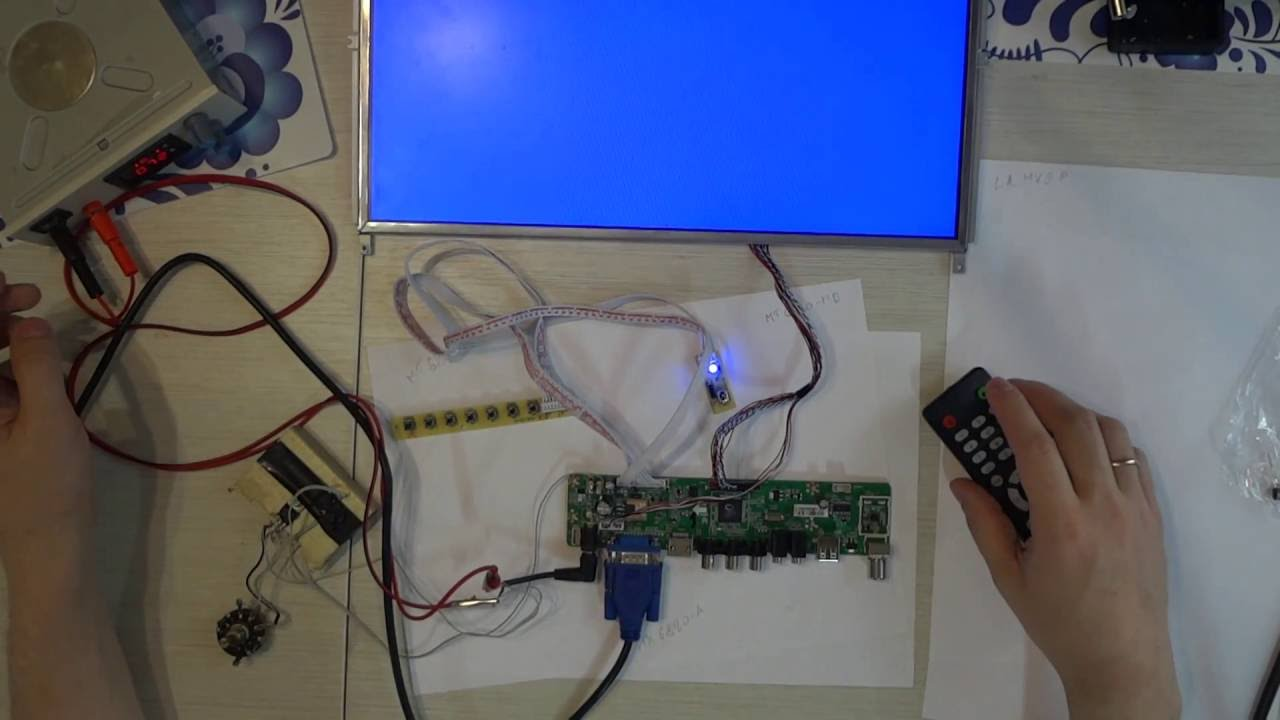 Контроллер для матрицы своими руками 92