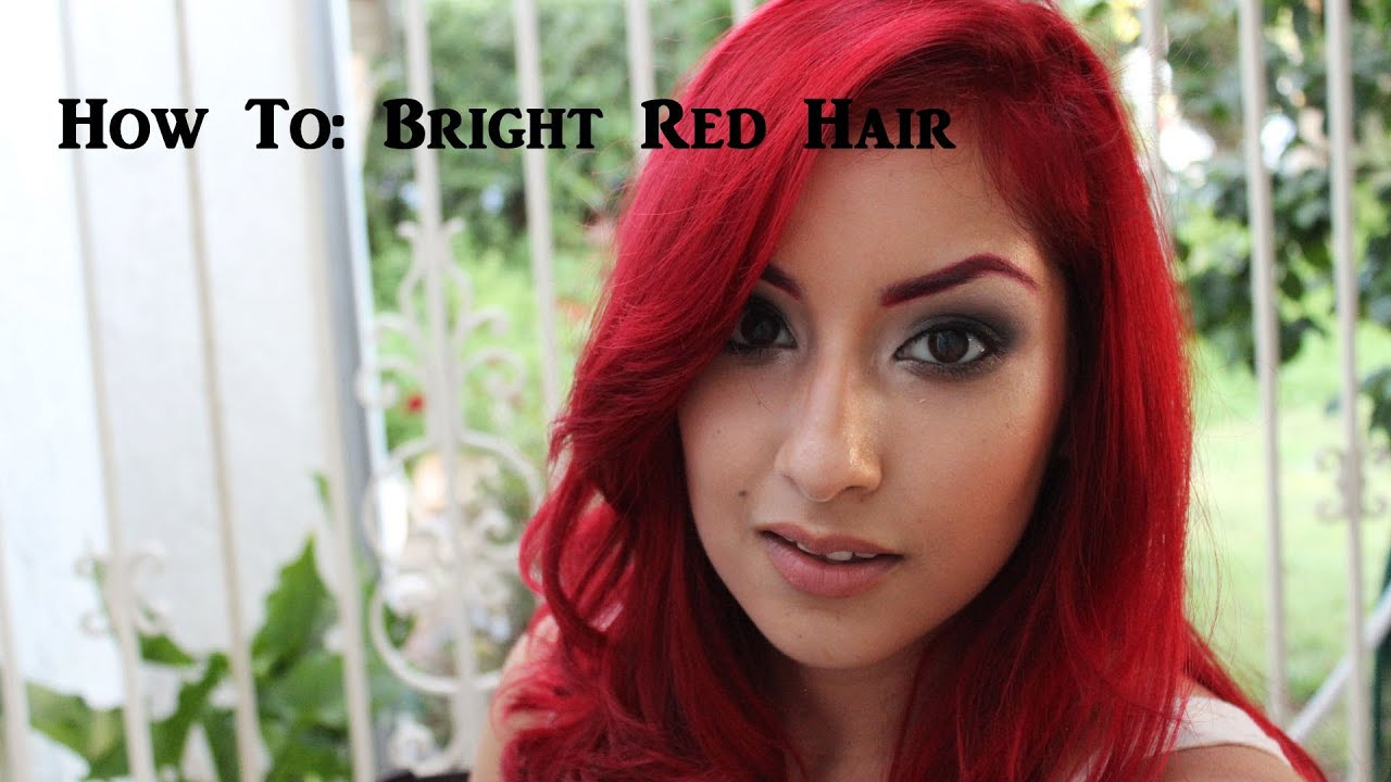 How to Get Bright Red Hair