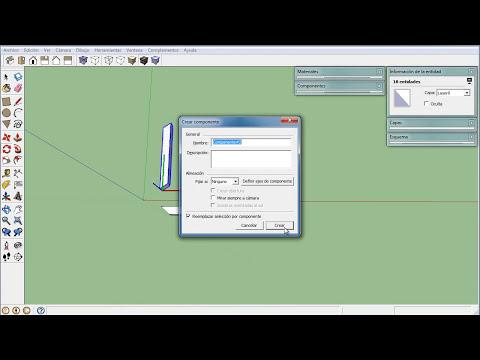 Las 3 Funciones de la herramienta medir en Sketchup Pro 8 - Video Curso