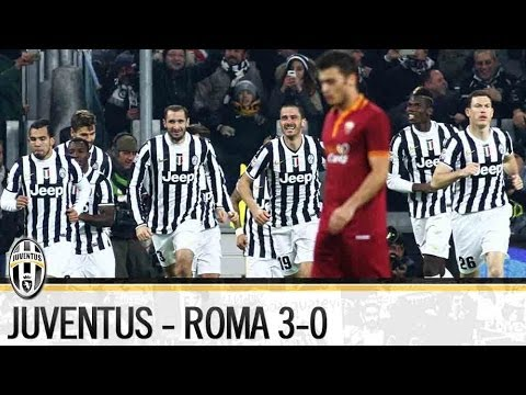 Juventus-Roma 3-0   5/01/2014    The Highlights